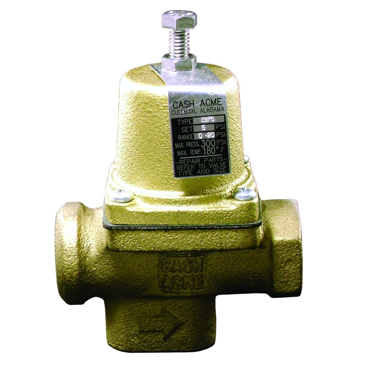 cash acme eb75 0 20 psi water regulator. Black Bedroom Furniture Sets. Home Design Ideas