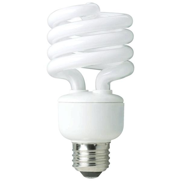 13 Watt Compact Spiral Fluorescent Bulb
