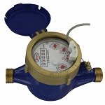 Water Meter w/ Pulsed Output