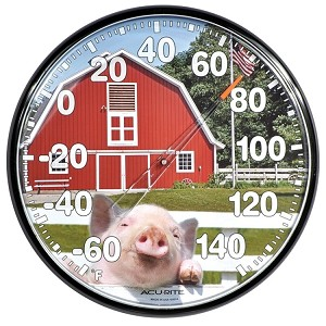 "12 1/2"" American Barn Thermometer"
