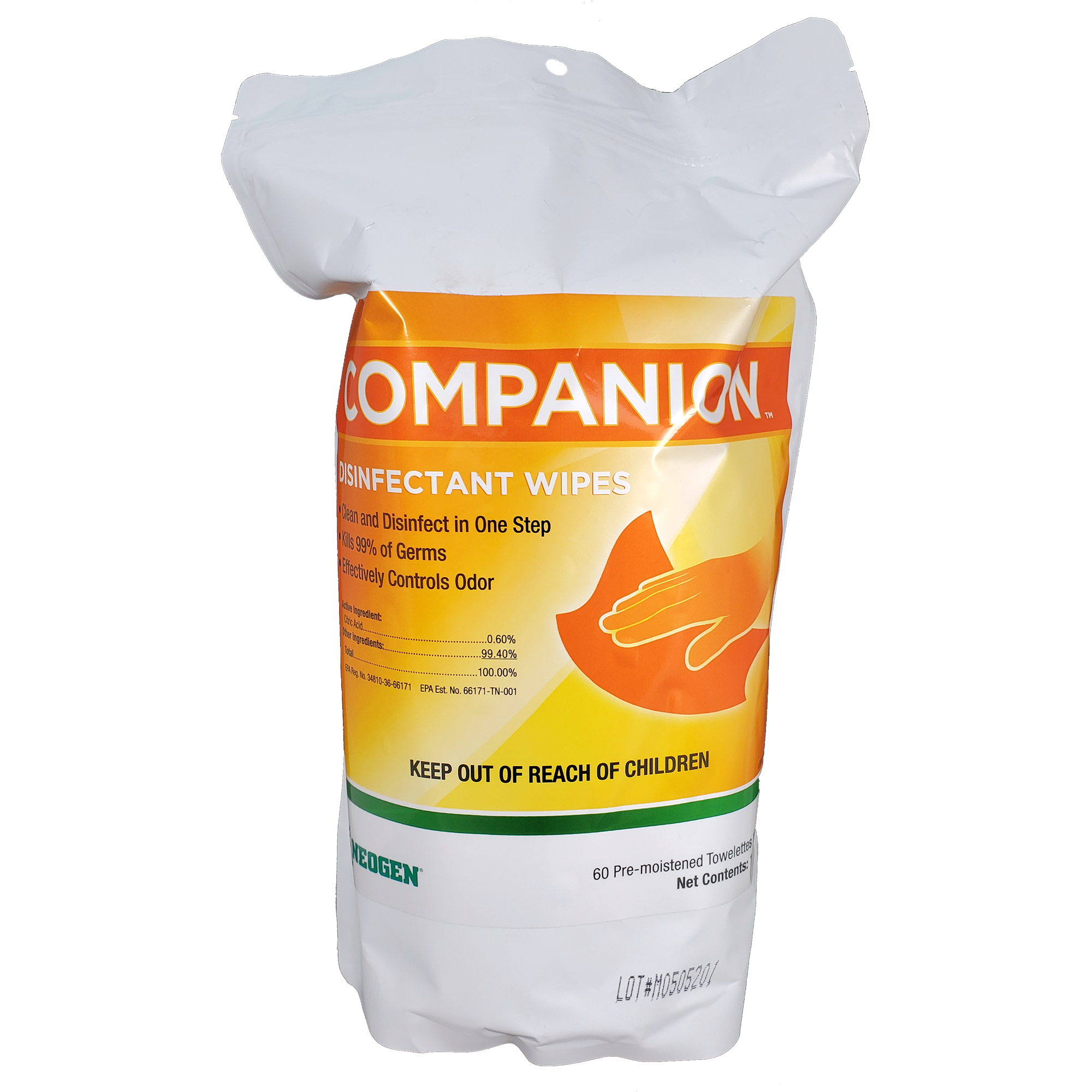 Companion Disinfectant Wipes (Soft Pack)