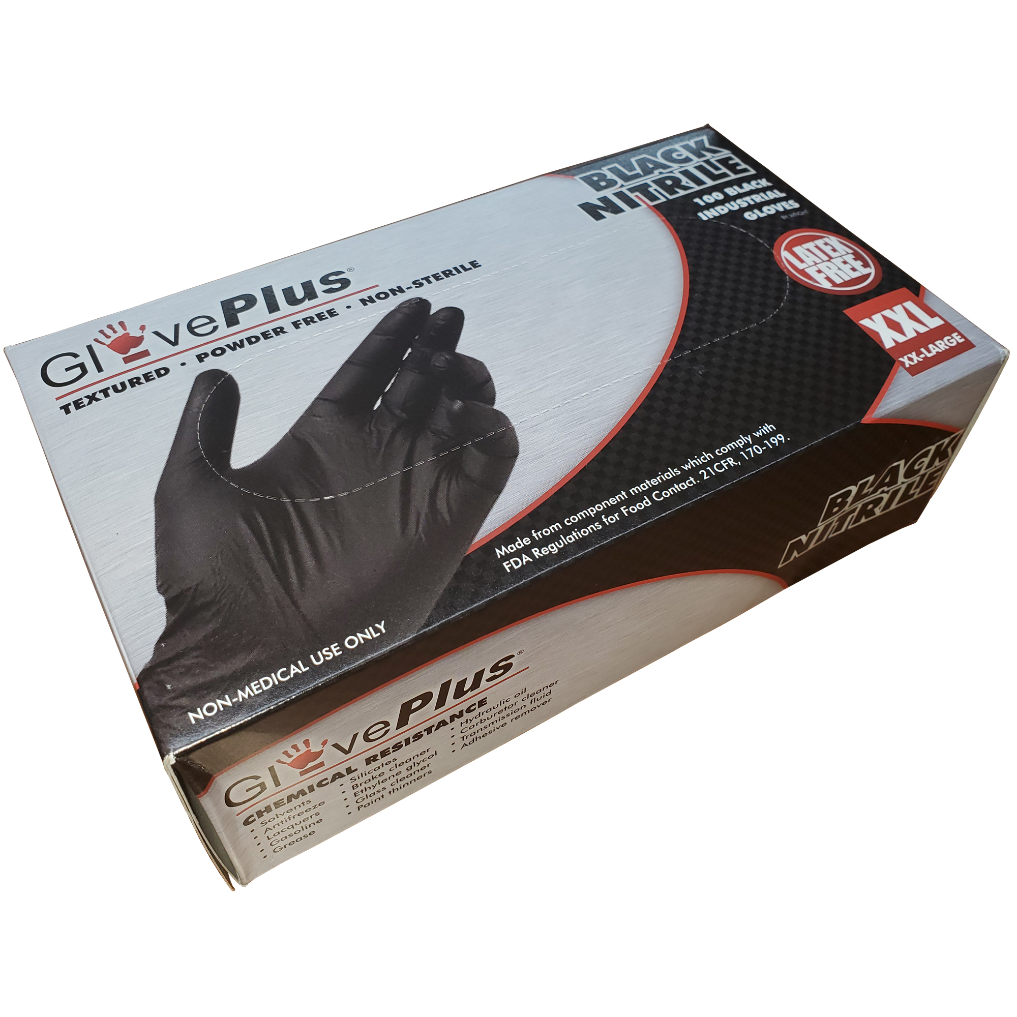 Black Nitrile Powder-Free Gloves