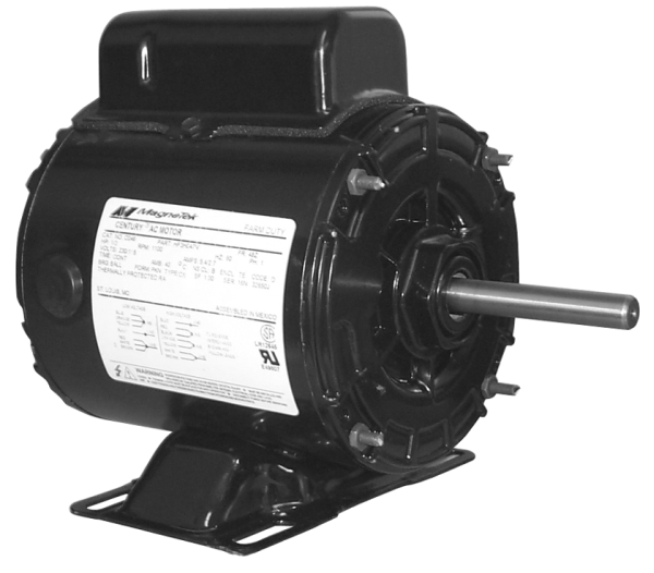 Century Electric Motor 1/3 HP 1800 RPM 56 Frame For GPP18