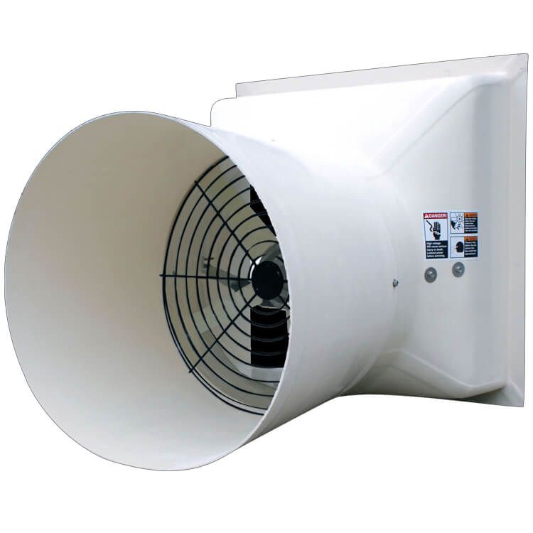 Ap 54 Quot Competitor Fan With Cone Cs54c1 P Agri Sales Inc