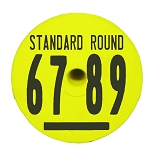 Duflex Standard Round Hog Tags - Numbered