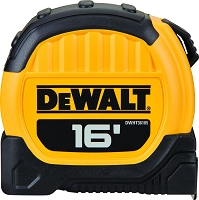 DeWalt 16 ft Tape Measure