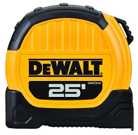 DeWalt 25 ft Tape Measure