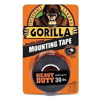 Gorilla Black Heavy Duty Mounting Tape