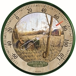 Harvest Acres Round Thermometer