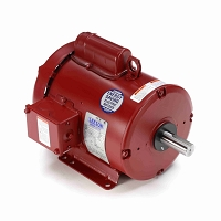 Leeson 2 Hp 1725 RPM 182 Frame Farm Duty Motor