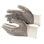 String Knit Dotted Glove
