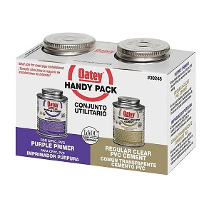 Oatey PVC Primer & Cement Handy Pack