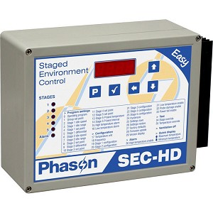 Heavy-Duty Staged Ventilation Control - SEC-HD
