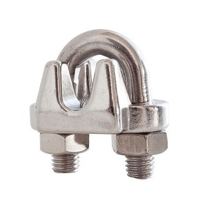 "1/8"" Stainless Steel Cable Clamp"