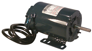 "10"" Pit Fan Replacement Motor 5/16"" shaft"